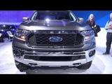 2019 Ford Ranger XLT - Exterior And Interior Walkaround - 2018 Toronto Auto Show