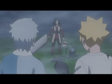 Боруто, Мицуки и Кагура против Шизумы