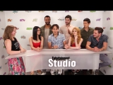 Entertainment Weekly Interviews the Shadowhunters Cast - SDCC 2017