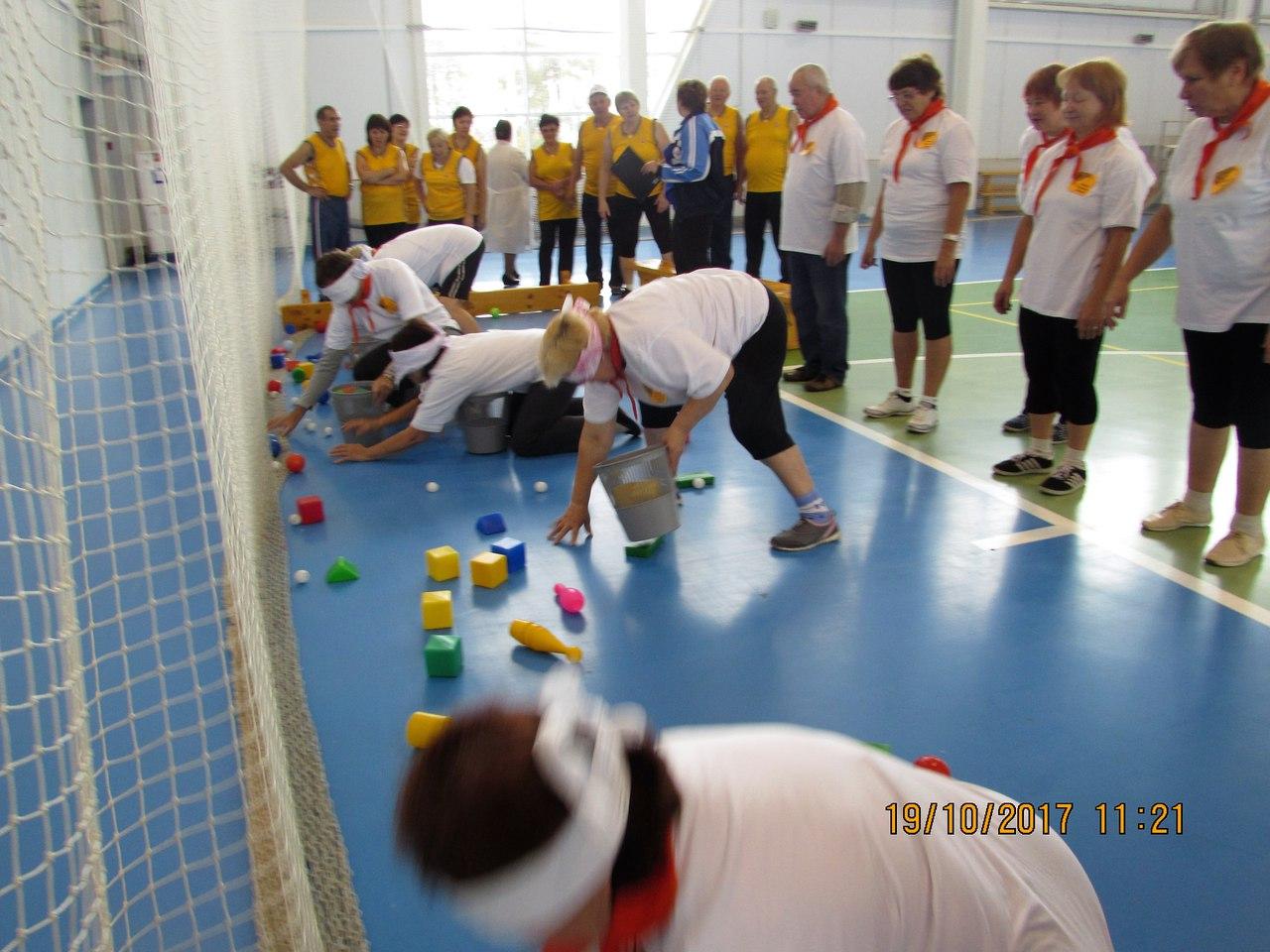 В р.п.Сокольское спортивные соревнования «Нам года - не беда»