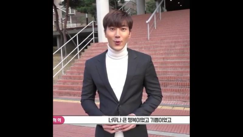 171203 seoyeonju83 instagram update with Siwon 끄으으으으으으으으으으읕~😜 tvn드라마변혁의사랑변혁최시원수고하셨습니다짝짝짝 www.instagram.com/p/BcP
