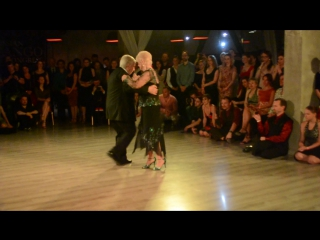 Nito и Elba Garcia на Russian Tango Congress 2017 - 3-3. Oro y gris