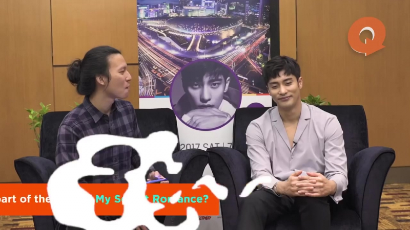 [ SUNG HOON ] QA SESSION THIS IS SUNG HOON 성훈 INTERVIEW BY QUICKIE THANK YOU