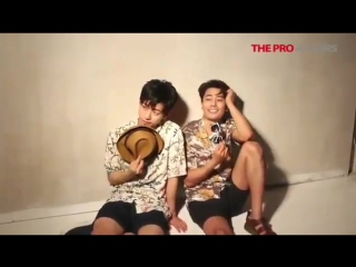 170705 'NAPOLEON' Casts Daehyun & Han Jisang Behind the Scenes for COVER STORY Photoshoot