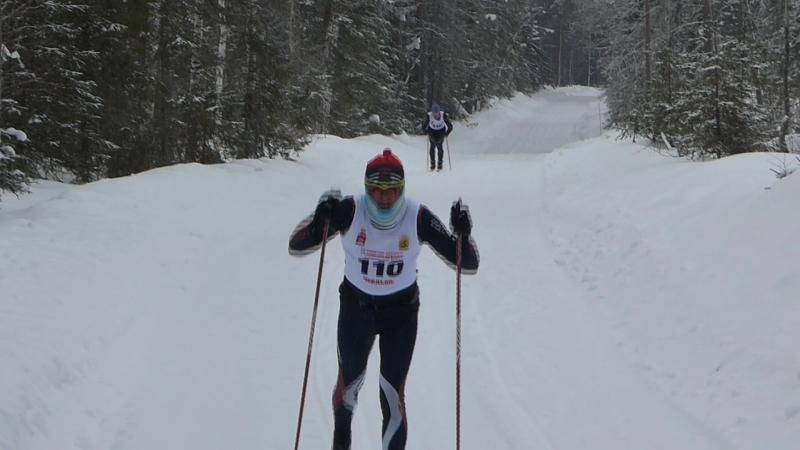 3 зимний марафон Ораловская верста