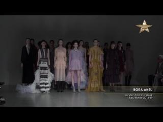 PIA для Bora Aksu A/W 2018-19 London