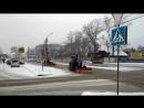 Глазам не верится! Уборка снега в ноябре в Бийске