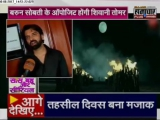 Барун в Лакхнау на промоушен-акции сериала кнэл 3)))