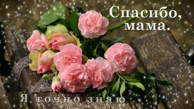 С Днём Матери,моя любимая мамочка Спасибо за то что ты у меня есть