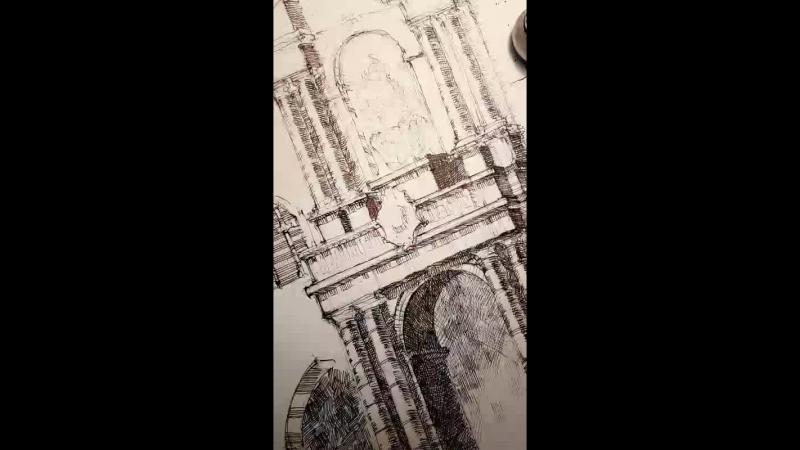 Sketching Bologna