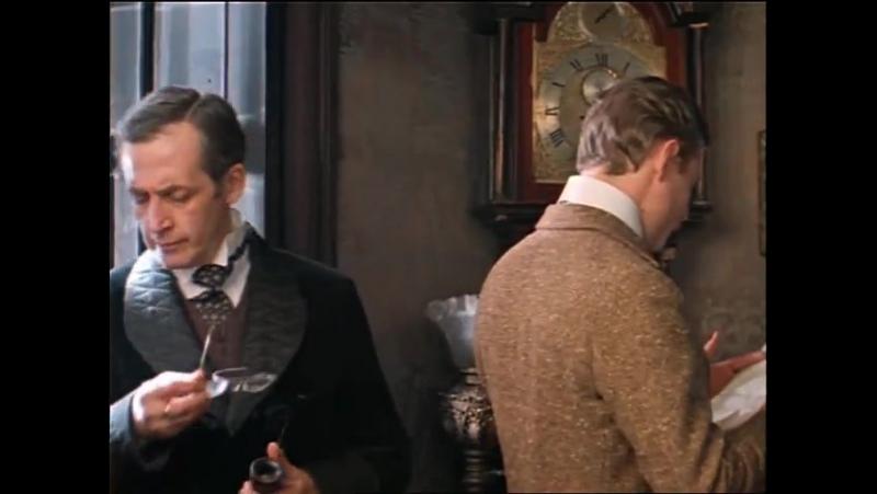 Приключения Шерлока Холмса и доктора Ватсона (1979) Кровавая надпись