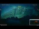Обломки американского авианосца «Лексингтон».