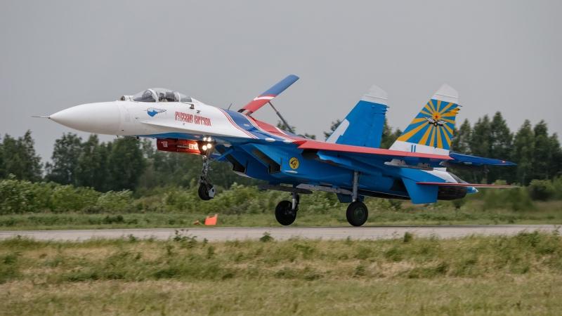 Высший пилотаж на Су-27