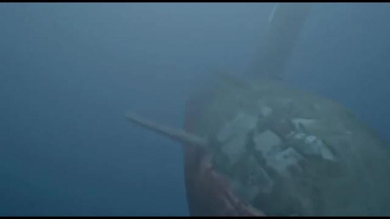 Отрывок.Курск.Подводная лодка в мутной воде