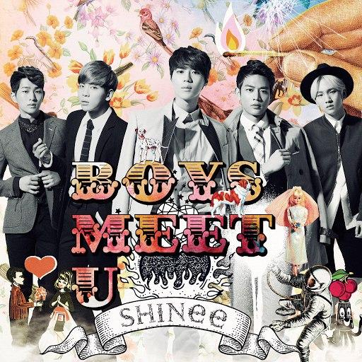 SHINee альбом Boys Meet U