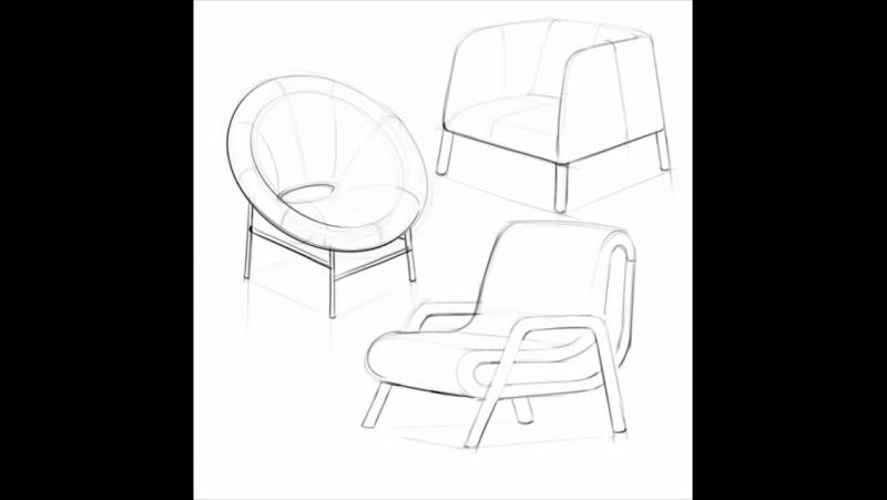 Sketch tutorial   Сhairs by Mauricio Sanin