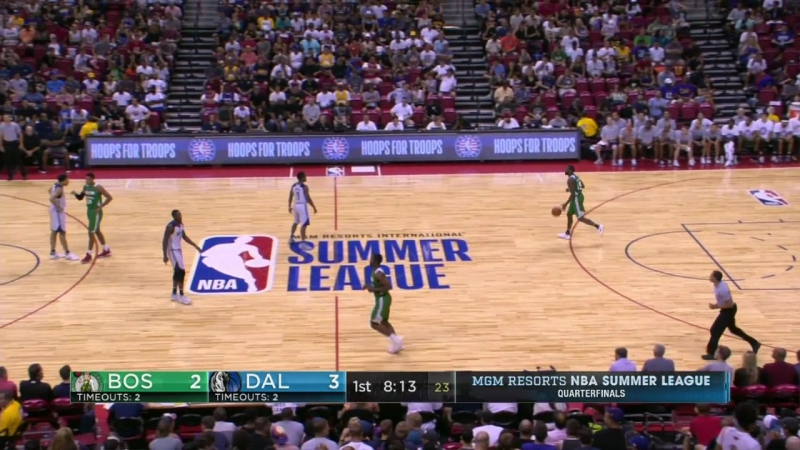 NBA Летняя лига 2017. Бостон - Даллас 15.07.17