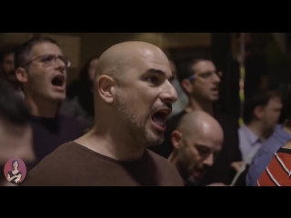 600 person choir singing Believer by Imagine Dragons