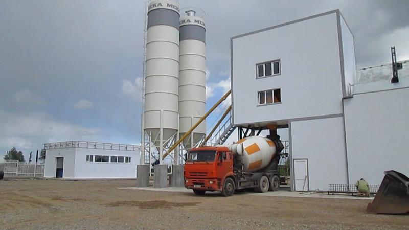 Видео от наших Заказчиков: Великие Луки, бетонный завод MEKAMIX-60 COMPACT