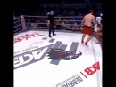 Brutal Flying Knee KO
