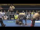 Maruyama, Omori, Ultimo Dragon, Yusuke Okada vs. Kotaro Suzuki, TAJIRI, Nakajima AJPW - Royal Road Tournament 2017 - Day 4