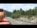 Рафтинг по реке Мзымта 08 08 2016 yklip scscscrp