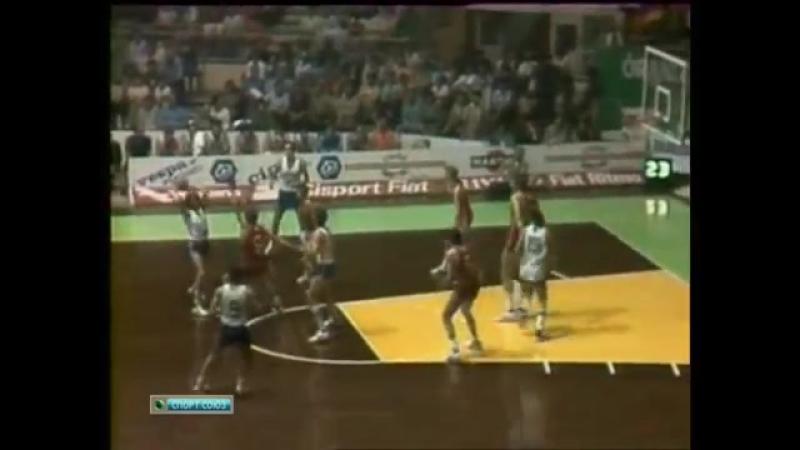 Баскетбол. Чемпионат Европы. Финал. СССР - Израиль (1979)