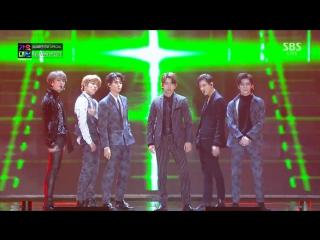 NCT 127 x GOT7 - Hey Come On @ 2017 SBS Gayo Daejun 171225
