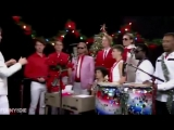 Arcade Fire Weird Out 'Little Drummer Boy' for Zach Galifianakis