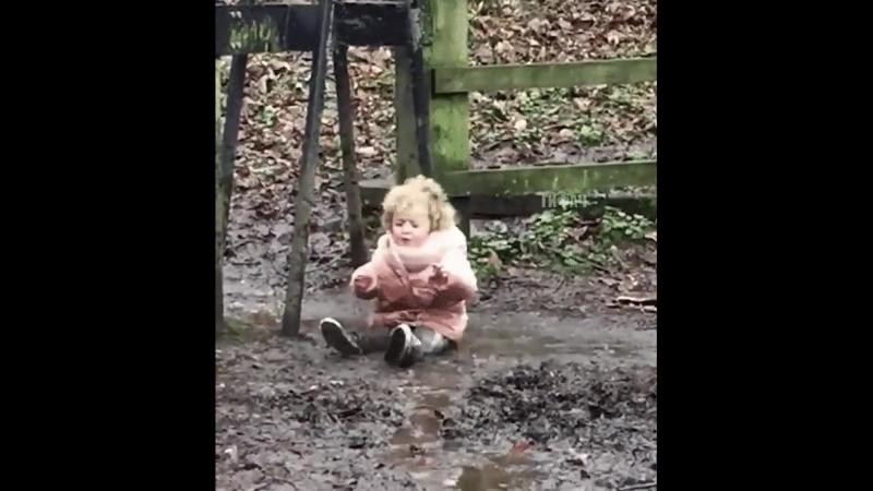 Таньки грязи не боятся)