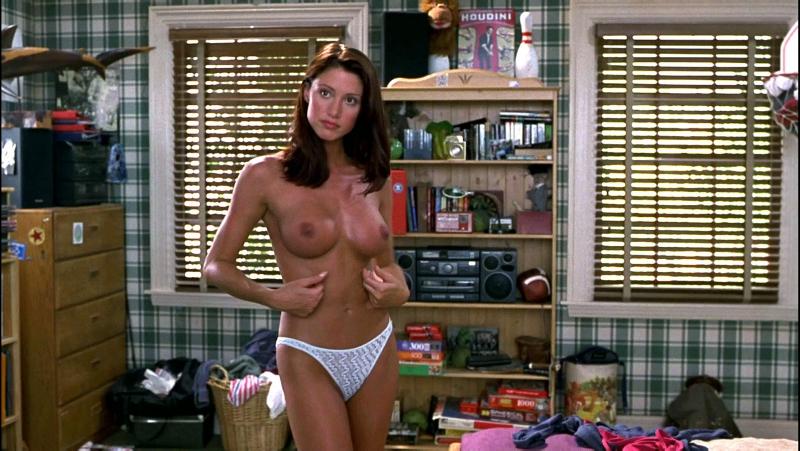 Шеннон Элизабет (Shannon Elizabeth nude scenes in American Pie 1999)