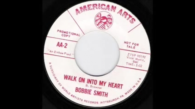 Northern Soul Bobbie Smith - Walk On Into My Heart