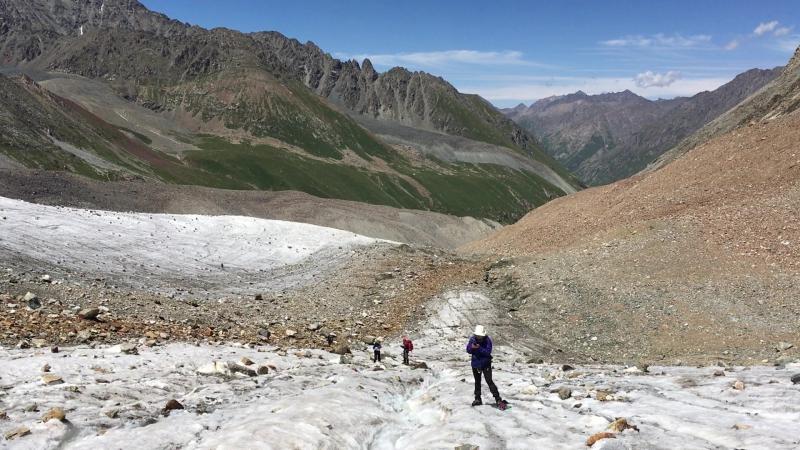 Вода на леднике