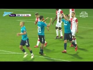 Зенит  Славия полный обзор матча на Зенит-ТВ