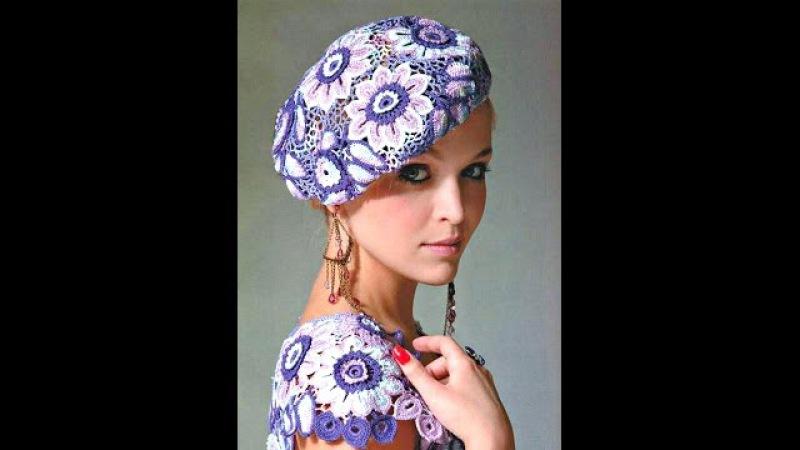Вязаные шапки спицами и крючком - более 50 моделей