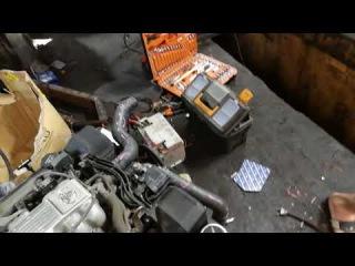 Предпродажная проверка Японского двигателя 1UZ-FE 280 л.с 4 литра, для отправки в Каз ...