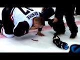 Во время матча Антипов получает травму