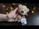 Making the teddy bear / вязание медвежонка