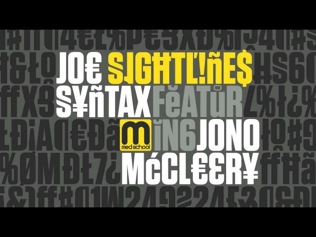 Joe Syntax feat Jono McCleery Sightlines FULL LENGTH HD