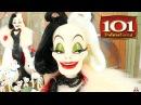 ОБЗОР куклы Cruella De Vil Pongo Perdita PUPPIES LIMITED EDITION 101 Dalmatians