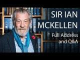Sir Ian McKellen Full Address and Q&ampA Oxford Union