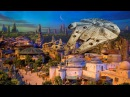 NEW Star Wars Land model UP-CLOSE at D23 Expo 2017 for Walt Disney World, Disneyland
