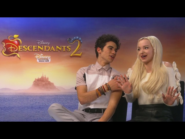 Descendants 2 Dove Cameron on falling in love with Thomas Doherty