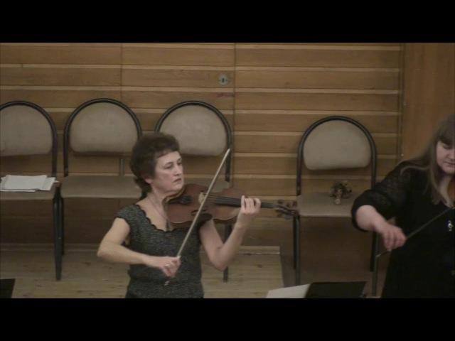 Ансамбль скрипачей Nota Artistica. Концерт, часть 1. Новосибирск, 2017