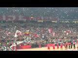 Crvena Zvezda - Cska Moskwa. ( basketball) 25.04.20016 incredible support of Zvezda Fans