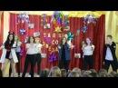 танец на новый год , танец в школе, флешмоб , 11 класс