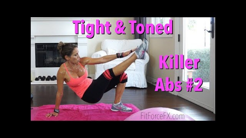 Tight Toned Challenge Killer Abs Series Workout No.2 byemuffintop absworkout fatburn toneup