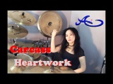 Carcass - Heartwork Drum cover by Ami Kim (14th)