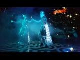 Lumos Зеркальный дуэт. Лазерное световое шоу, Иркутск.