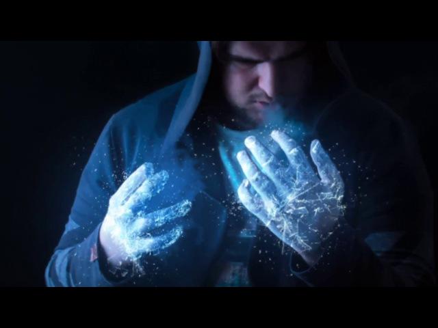 Ледяные руки фентези манипуляция в Фотошоп